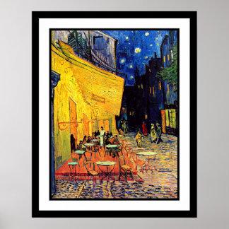 Vincent Van Gogh - Cafe Terrace At Night Fine Art Poster