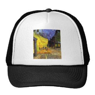 Vincent Van Gogh Cafe Terrace At Night Vintage Art Trucker Hat