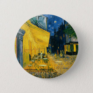 Vincent van Gogh | Cafe Terrace, Place du Forum 2 Inch Round Button