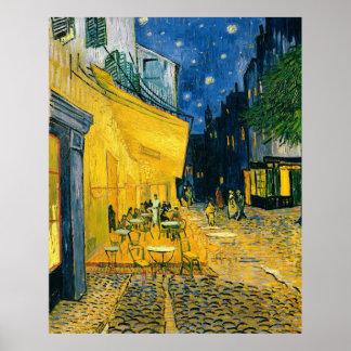 Vincent van Gogh   Cafe Terrace, Place du Forum Poster