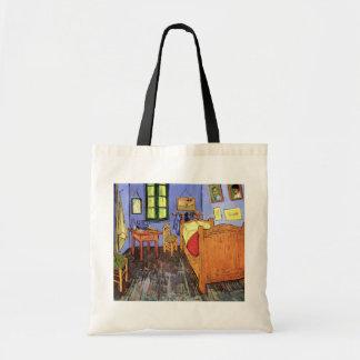 Vincent van Gogh - chambre à coucher en beaux-arts Sac En Toile Budget