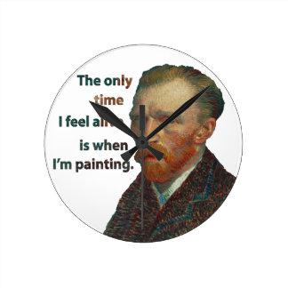 Vincent Van Gogh Clock