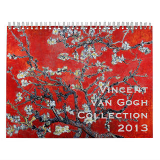 Vincent van Gogh Collection 2013 Calendar