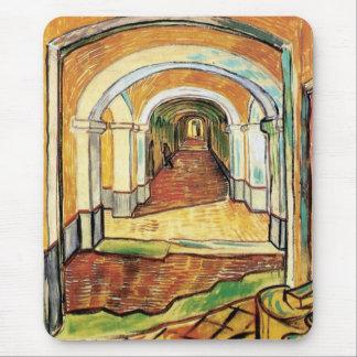 Vincent Van Gogh - Corridor Of Saint Paul Hospital Mouse Pad