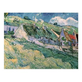 Vincent van Gogh | Cottages at Auvers-sur-Oise Postcard