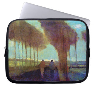 Vincent Van Gogh - Country Lane With Two Figures Laptop Sleeve