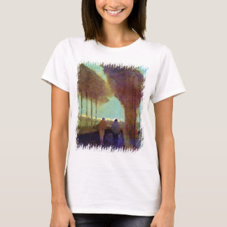 Vincent Van Gogh - Country Lane With Two Figures T-Shirt