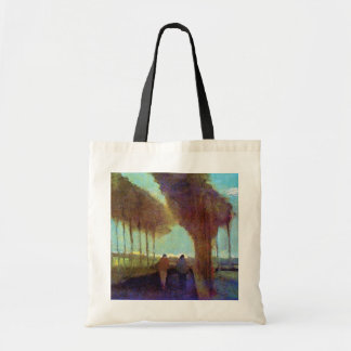 Vincent Van Gogh - Country Lane With Two Figures Tote Bag