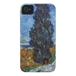 Vincent Van Gogh Country road in Provence by Night Case-Mate iPhone 4 Cases