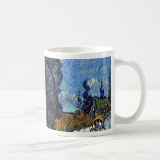 Vincent Van Gogh Country road in Provence by Night Coffee Mug