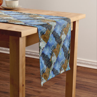 Vincent Van Gogh Country road in Provence by Night Short Table Runner