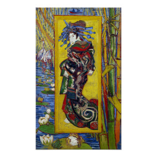 Vincent van Gogh Courtesan Poster
