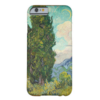 Vincent Van Gogh Cypresses Barely There iPhone 6 Case