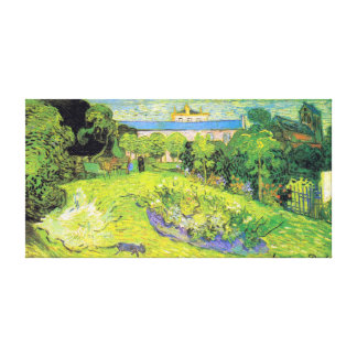 Vincent van Gogh Daubigny's Garden Canvas Print