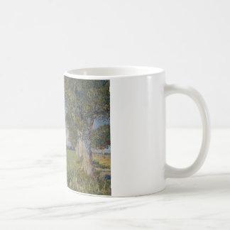 Vincent van Gogh - Farmhouse in a Wheat Field Coffee Mug