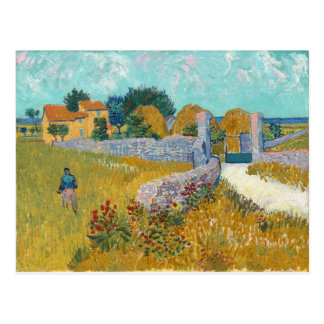 Vincent van Gogh--Farmhouse in Provence Postcard