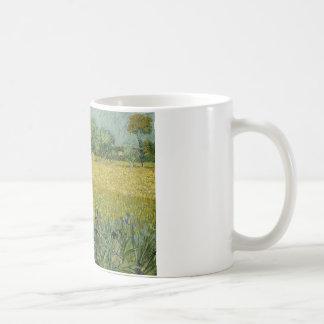 Vincent van Gogh - Field with Flowers Near Arles Coffee Mug