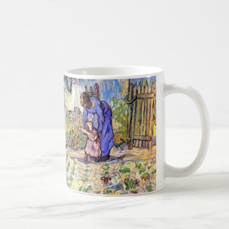 Vincent Van Gogh - First Steps - Father's Day Art Coffee Mug