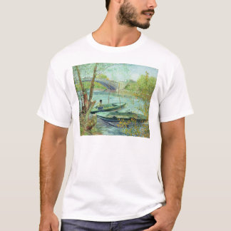 Vincent van Gogh | Fishing in the Spring T-Shirt