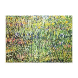 Vincent van Gogh Flowering Meadow Canvas Print