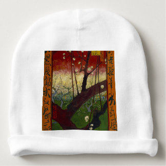 Vincent Van Gogh Flowering Plum Tree Art work Baby Beanie