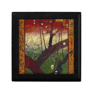 Vincent Van Gogh Flowering Plum Tree Art work Gift Box