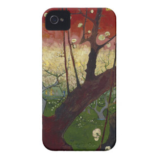Vincent Van Gogh Flowering Plum Tree Art work iPhone 4 Cases