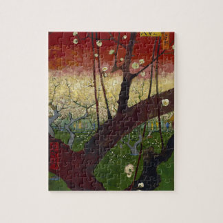 Vincent Van Gogh Flowering Plum Tree Art work Jigsaw Puzzle