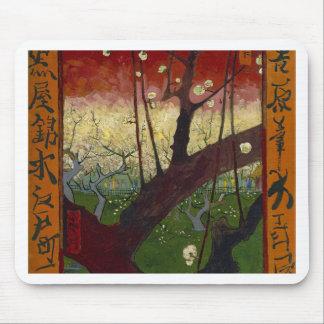 Vincent Van Gogh Flowering Plum Tree Art work Mouse Pad