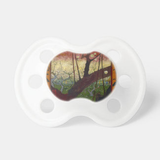 Vincent Van Gogh Flowering Plum Tree Art work Pacifier