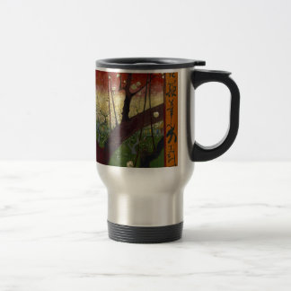 Vincent Van Gogh Flowering Plum Tree Art work Travel Mug
