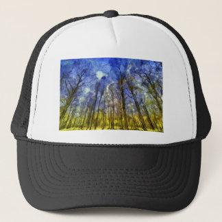 Vincent Van Gogh Forest Art Trucker Hat