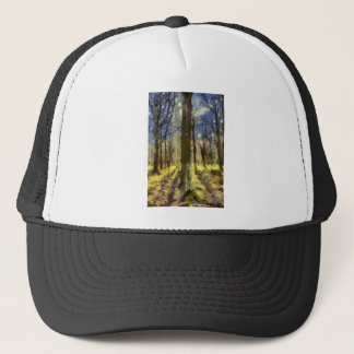 Vincent Van Gogh Forest Art Trucker Hat