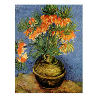 Vincent van Gogh - Fritillaries in a Copper Vase Postcard
