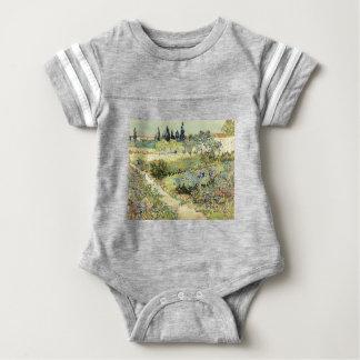 Vincent Van Gogh Garden at Arles Baby Bodysuit