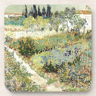 Vincent Van Gogh Garden at Arles Beverage Coaster