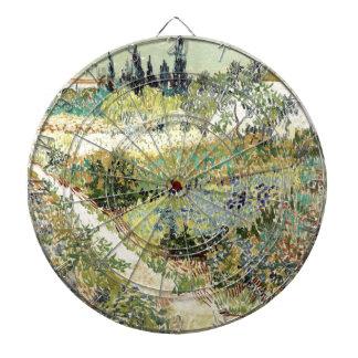 Vincent Van Gogh Garden at Arles Dartboard