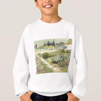 Vincent Van Gogh Garden at Arles Sweatshirt
