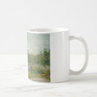 Vincent van Gogh - Garden in Montmarte Coffee Mug