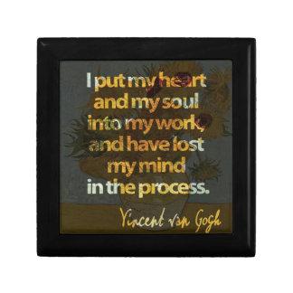 Vincent Van Gogh Gift Box