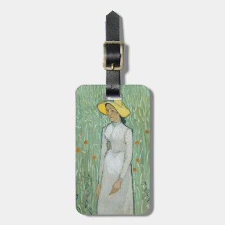 Vincent van Gogh | Girl in White, 1890 Luggage Tag