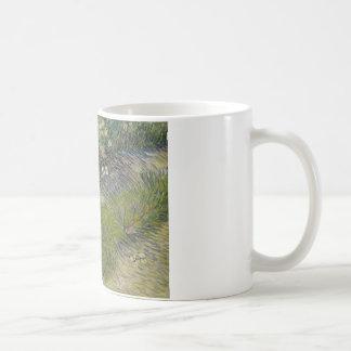 Vincent van Gogh - Grass and Butterflies Coffee Mug