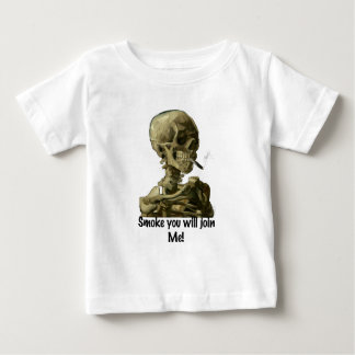 Vincent van Gogh Head Smoke you will join Me Gifts Baby T-Shirt
