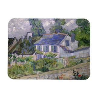 Vincent van Gogh - Houses at Auvers Rectangular Photo Magnet