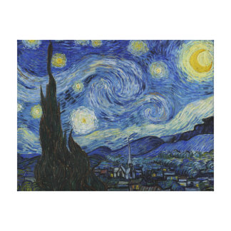 Vincent van Gogh Iconic Starry Night Canvas Print