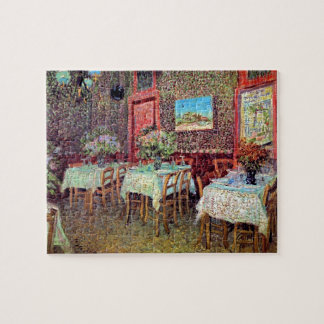 Vincent Van Gogh - Interior Of A Restaurant Jigsaw Puzzle
