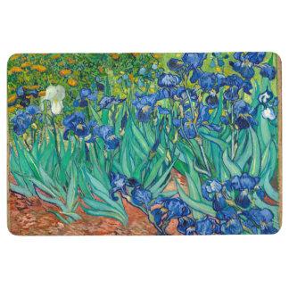 VINCENT VAN GOGH - Irises 1889 Floor Mat