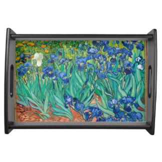 VINCENT VAN GOGH - Irises 1889 Serving Tray