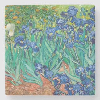 VINCENT VAN GOGH - Irises 1889 Stone Coaster
