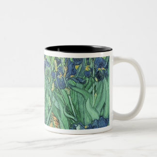 Vincent van Gogh | Irises, 1889 Two-Tone Coffee Mug